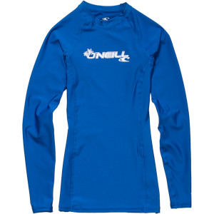 O'Neill Basic Skins Crew Rashguard - Long-Sleeve - Women's