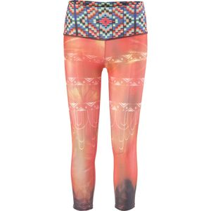 Onzie High Rise Graphic Capri Pant - Women's