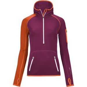 Ortovox Merino Zip-Neck Fleece Hoodie - Women's