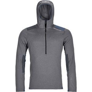 Ortovox Fleece Light Grid Zip-Neck Hoodie - Men's