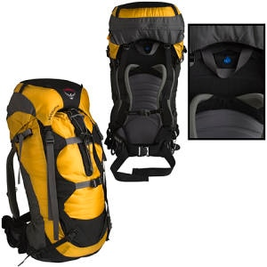 photo: Osprey Exposure 66 weekend pack (3,000 - 4,499 cu in)