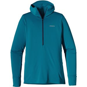 Patagonia All Weather Zip-Neck Hooded Shirt - Long-Sleeve - Men's
