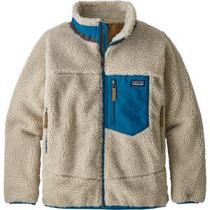 파타고니아 보이즈 레트로 X 플리스 자켓 (성인 여성 착용 가능 L~XXL) Patagonia Retro-X Fleece Jacket - Boys,Natural/Balkan Blue