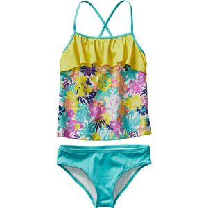 Patagonia Wavy Day Tankini Swimsuit - Girls'