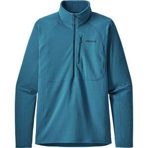 파타고니아 Patagonia R1 Fleece 1/2-Zip Pullover - Mens