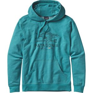 Patagonia Geodesic Flying Fish Lightweight Pullover Hoodie - Men's