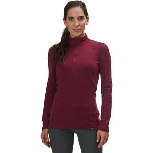 Patagonia Capilene Thermal Weight Zip-Neck Top - Women's