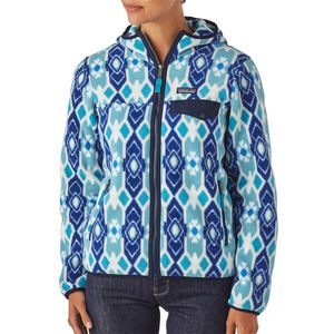 Patagonia Lightweight Snap-T Fleece Hooded Jacket - Women's