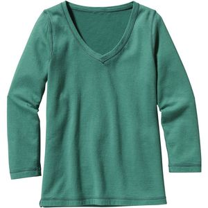 Patagonia Reversible Double Knit V-Neck Sweater - Women's