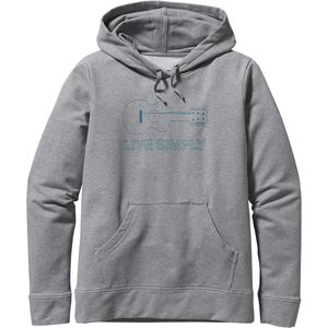 Patagonia Live Simply Guitar Midweight Pullover Hoodie - Women's