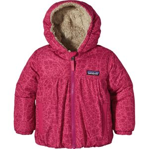 Patagonia Reversible Honey Puff Hooded Jacket - Toddler Girls'