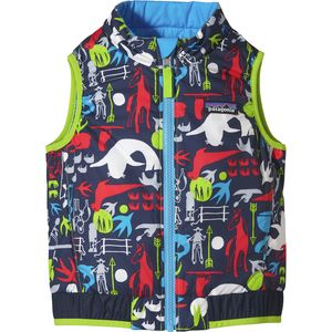 Patagonia Puff-Ball Reversible Vest - Infant Boys'