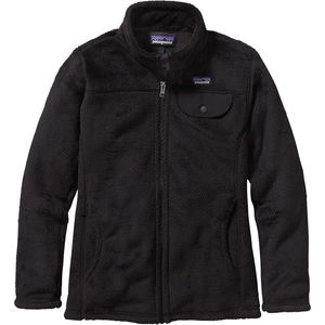 Patagonia Full-Zip Re-Tool Fleece Jacket - Girls'