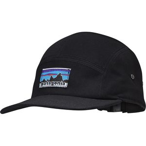 Patagonia Retro Fitz Roy Label Tradesmith 5-Panel Cap