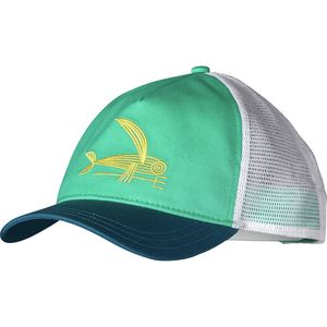 Patagonia Deconstructed Flying Fish Layback Trucker Hat - Women's