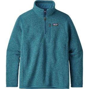 파타고니아 보이즈 플리스 자켓 Patagonia Better Sweater 1/4-Zip Fleece Jacket - Boys