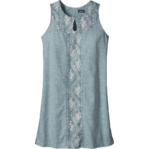 Patagonia Island Hemp Shift Dress - Sleeveless - Women's