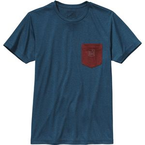 Patagonia Badge Recycled Pocket Responsibili-T-Shirt - Short-Sleeve - Men's