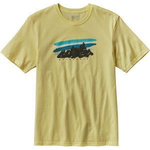Patagonia Painted Fitz Roy T-Shirt - Short-Sleeve - Men's