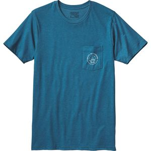 Patagonia Geodetic Anvil Pocket  T-Shirt - Short-Sleeve - Men's