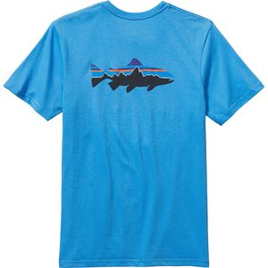 Patagonia Trout Fitz Roy T-Shirt - Short-Sleeve - Men's
