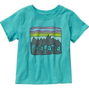 Patagonia Baby Fitz Roy Skies T-Shirt - Short-Sleeve - Toddler Girls'