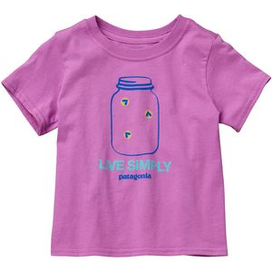 Patagonia Graphic Cotton T-Shirt - Short-Sleeve - Infant Girls'
