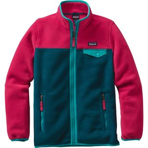 Patagonia Lightweight Synchilla Snap-T Fleece Jacket - Girls'