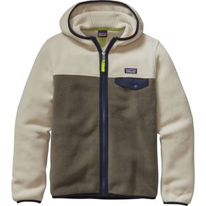 Patagonia Lightweight Synchilla Snap-T Hooded Fleece Jacket - Boys'
