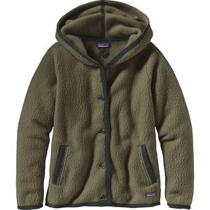 Patagonia Shearling Hooded Fleece Cardigan - Women's