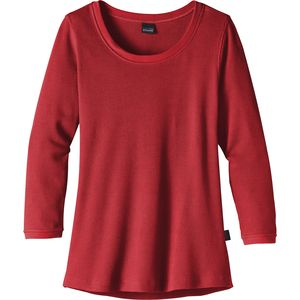 Patagonia Waffle Pullover Long Sleeve Shirt - Women's