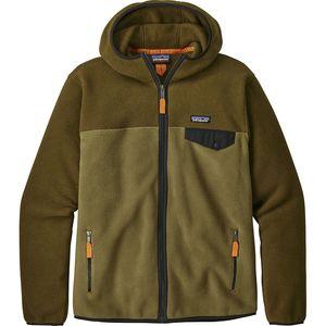 파타고니아 Patagonia Lightweight Synchilla Snap-T Hooded Fleece Jacket - Mens
