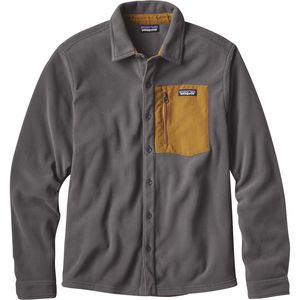 Patagonia Micro D Fleece Long-Sleeve Shirt  - Men's