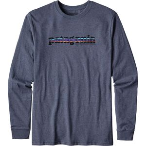 Patagonia '73 Text Logo Cotton/Poly Responsibili-T Long-Sleeve Shirt - Men's