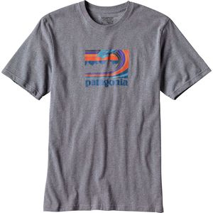 Patagonia Framed Fitz Roy Cotton/Poly Responsibili-T-Shirt - Men's