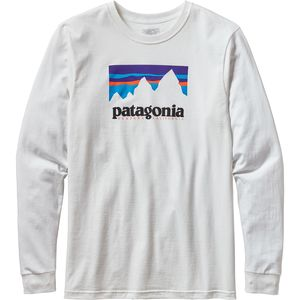 Patagonia Shop Sticker Cotton T-Shirt - Men's