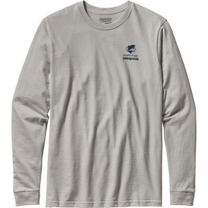 Patagonia World Trout Slurped Cotton Long Sleeve T-Shirt  - Men's