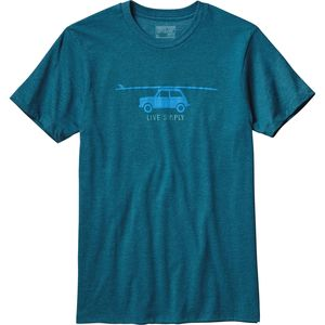 Patagonia Live Simply Glider Cotton/Poly T-Shirt - Men's