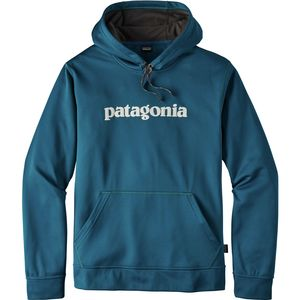 Patagonia Text Logo PolyCycle Pullover Hoodie - Men's