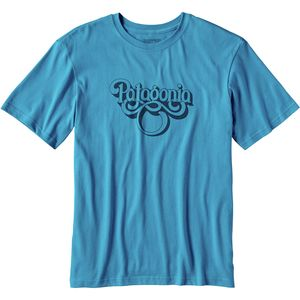 Patagonia Groovy Type Cotton T-Shirt - Men's