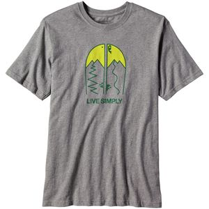 Patagonia Live Simply Split Cotton T-Shirt - Men's