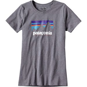 Patagonia Shop Sticker Responsibili-Tee Shirt - Women's