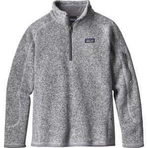 파타고니아 걸즈 Patagonia Better 1/4-Zip Sweater - Girls