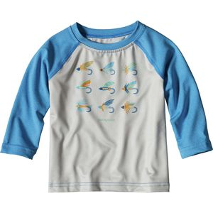 Patagonia Baby Capilene Silkweight Crew - Short-Sleeve - Toddler Boys'