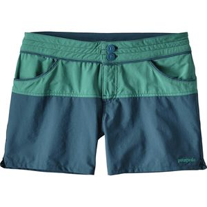 Patagonia Colorblock Stretch Wavefarer Short - Women's