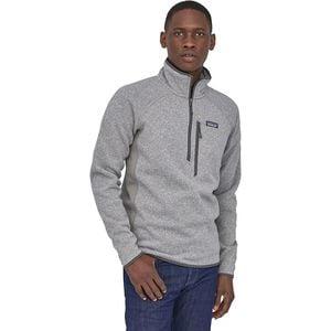 파타고니아 1/4 집업 후리스 자켓 퍼포먼스 스웨터 남성용 자켓 Patagonia Performance Better Sweater 1/4-Zip Fleece Jacket - Mens