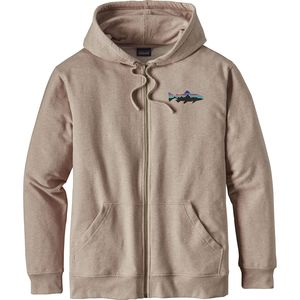 Patagonia Small Fitz Roy Trout Midweight Full-Zip Hoodie - Men's