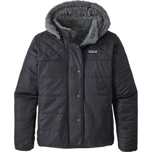 파타고니아 걸즈 양면 드림 송 다운 자켓 Patagonia Reversible Dream Song Hooded Down Jacket - Girls