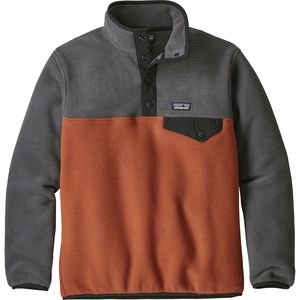 파타고니아 보이즈 신칠라 경량 플리스 Patagonia Lightweight Synchilla Snap-T Fleece Pullover - Boys