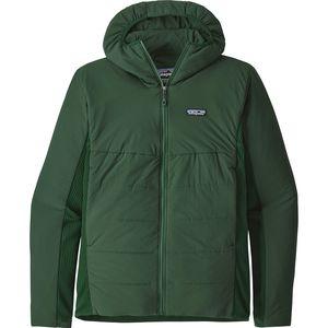 파타고니아 Patagonia Nano-Air Light Hybrid Insulated Hooded Jacket - Mens